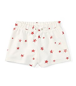 Polo Ralph Lauren® Girls' 7-16 Star Printed Drawstring Shorts
