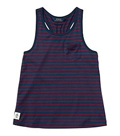 Polo Ralph Lauren® Girls' 2T-6X Striped Tank