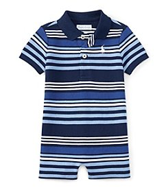 Ralph Lauren® Baby Boys Striped One-Piece Shortall