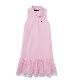 Ralph Lauren Childrenswear Girls' 2T-6X Oxford Dress