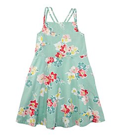 Ralph Lauren Childrenswear Girls' 2T-6X Floral Sun Dress