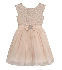 Rare Editions® Girls' 7-16 Brocade Ballerina Dress