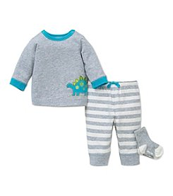 Little Me® Baby Boys' 3-Piece Dino Joggers Set