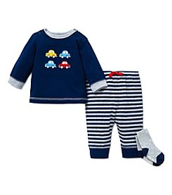 Little Me® Baby Boys 3-Piece Cars Joggers Set