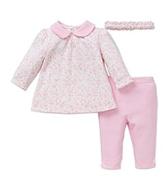 Little Me® Baby Girls' 3-Piece Leafy Tunic Set