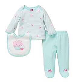 Little Me® Baby Girls' 3-Piece Cupcakes Set