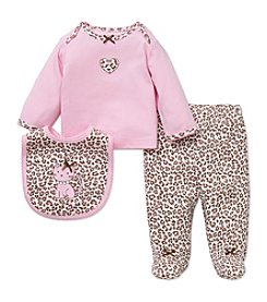 Little Me® Baby Girls' 3-Piece Leopard Set