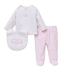Little Me® Baby Girls' 3-Piece Thank Heaven Set