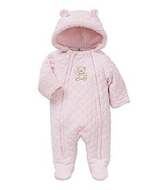 Little Me® Baby Girls' Quilted Bear Pram