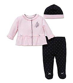 Little Me® Baby Girls' 3-Piece Ballet Dot Set
