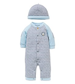 Little Me® Baby Boys 3-Piece Cute Puppy Coverall Set
