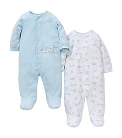 Little Me® Baby Boys 2-Pack Friends Footies