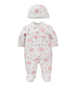 Little Me® Baby Girls' 2-Piece Posies Bouquet Footie Set