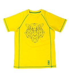 PUMA® Boys' 8-20 Short Sleeve Graphic Active Tee