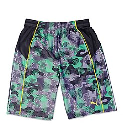 PUMA® Boys' 8-20 Camo Active Shorts