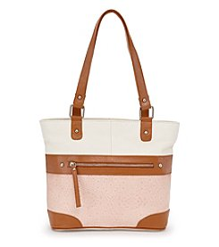 GAL Leather Embossed Tote