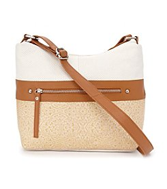 GAL Leather Hobo Crossbody