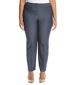 Nine West® Plus Size Denim Trouser Pants