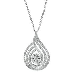 Effy® Bouquet Collection 0.70 ct. tw. Diamond Pendant in 14K White Gold