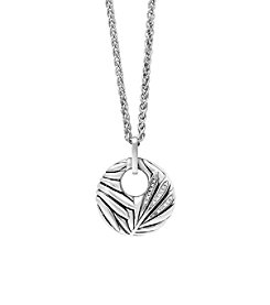 Effy® 925 Collection Sterling Silver Pendant with 0.07 ct. tw. Diamond Accents
