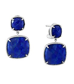 Effy® 925 Collection Sterling Silver Lapis Lazuli Earrings