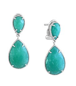 Effy® 925 Collection Sterling Silver Amazonite Earrings