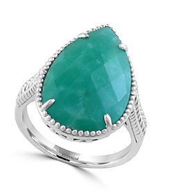 Effy® 925 Collection Amazonite Sterling Silver Ring