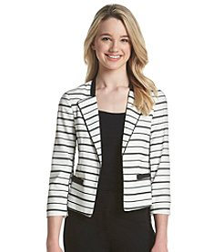 XOXO® Striped Blazer