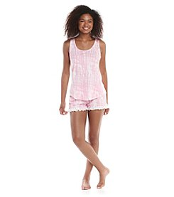 PJ Couture® Short Pajama Set