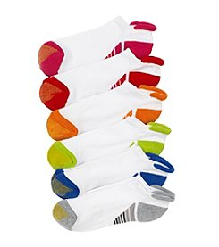 GOLD TOE® 6-Pack Vacation Tab Liner Socks