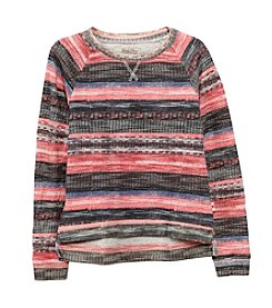 Lucky Brand® Girls' 4-16 Long Sleeve Striped Sweater