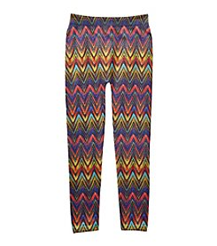 Squeeze® Girls' 7-16 Fleece Lined Chevron Leggings