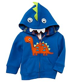 Mix & Match Baby Boys Dinosaur Fleece Hoodie