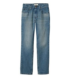 Ruff Hewn Boys' 8-20 5-Pocket Straight Leg Jeans