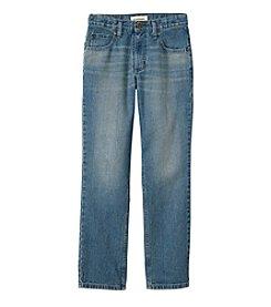 Ruff Hewn Boys' 8-20 5-Pocket Straight Leg Jeans