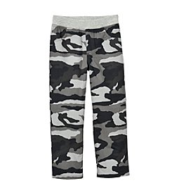 Mix & Match Boys' 2T-7 Knit Waistband Camo Pants