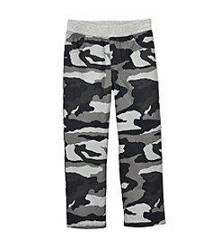 Mix & Match Boys' 2T-7 Knit Waistband Camo Pants