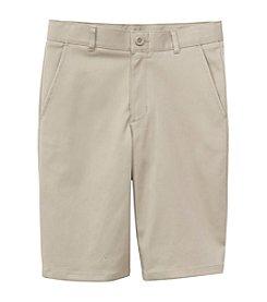 Nautica® Boys' 8-20 Flat Front Twill Shorts
