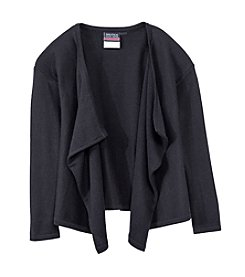 Nautica® Girls' 4-6X Drape Front Sweater