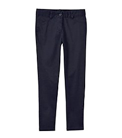 Nautica® Girls' 7-16 5-Pocket Sateen Pants