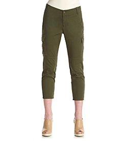 Ruff Hewn Cropped Slim Cargo Pants
