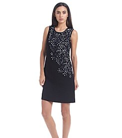 Calvin Klein Beaded Shift Dress