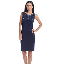 Ivanka Trump® Studded Sheath Dress