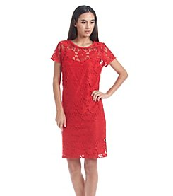 Nine West® Lace Fit And Flare Dress