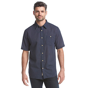 Weatherproof Vintage® Men's Short Sleeve Button Down Shirt plus size,  plus size fashion plus size appare