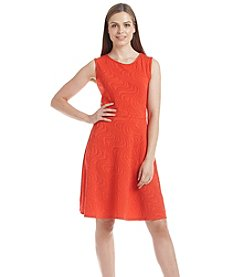 Madison Leigh® Swirl Knit Fit And Flare Dress