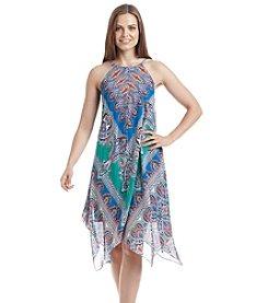 Prelude® Halter Hanky Hem Trapeze Dress