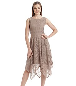 Ronni Nicole® Crochet Lace Dress