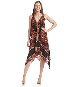 S.L. Fashions Boho Patterned Dress