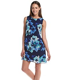 Jessica Howard® Petites' Floral Keyhole Dress